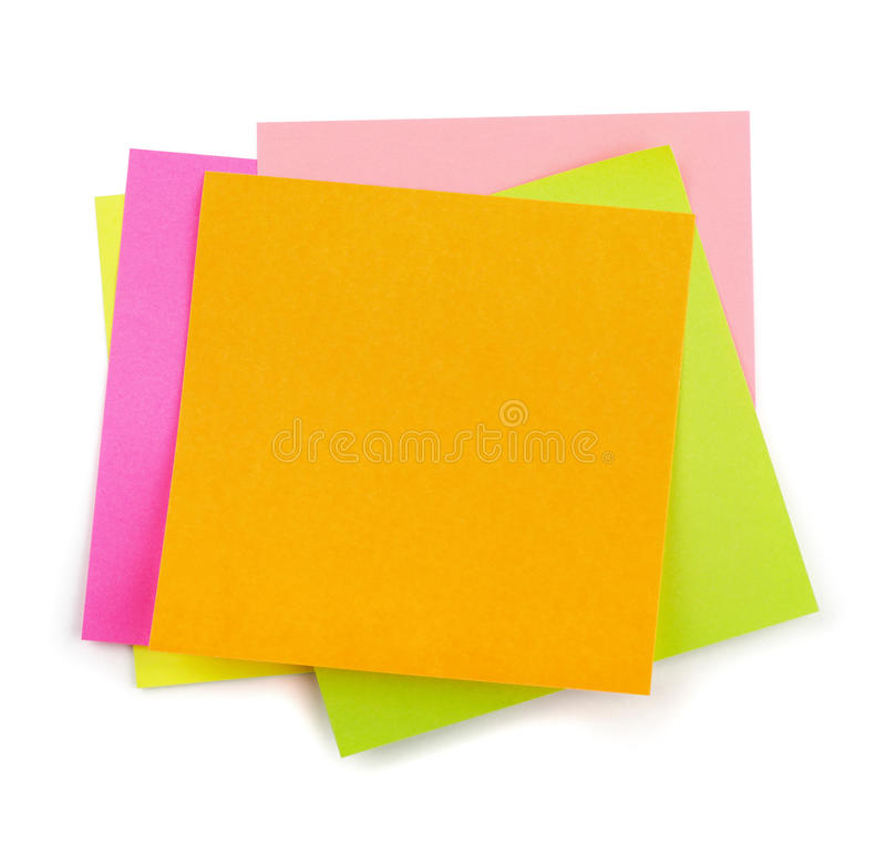 Download Post-it stock photo. Image of group, empty, information - 31130822