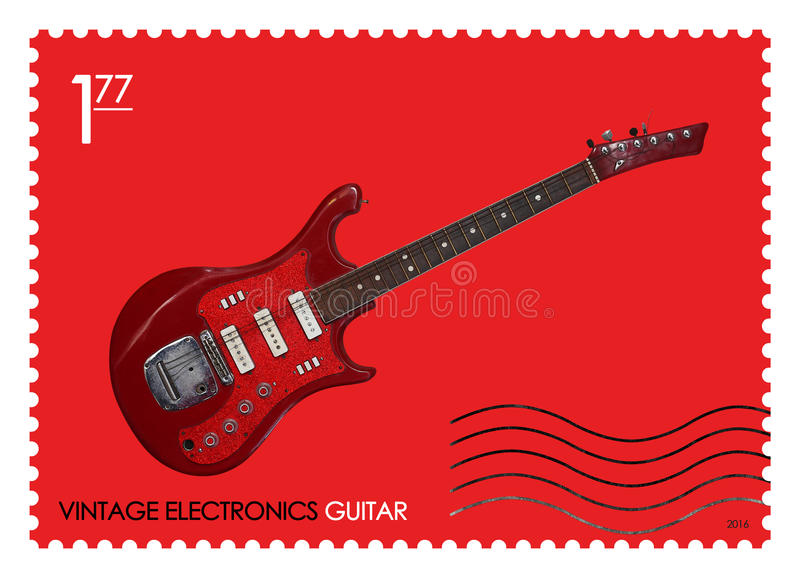 fake guitar stock image image of beautiful excitement 40404185. Black Bedroom Furniture Sets. Home Design Ideas