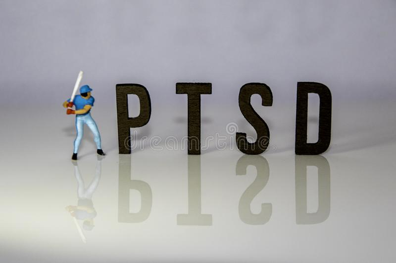 Post Traumatic Stress Disorder royalty free stock images