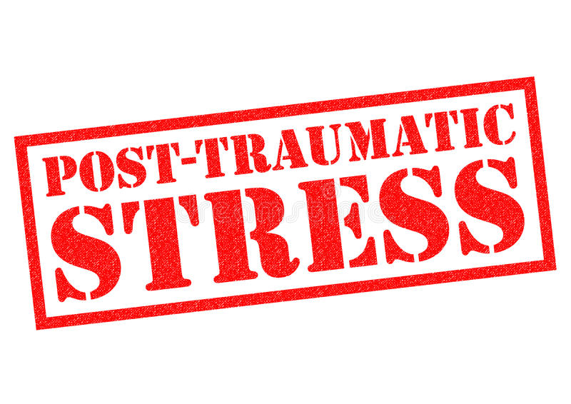 POST TRAUMATIC STRESS royalty free illustration