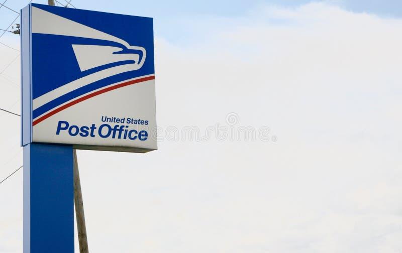 Post Vereinigter Staaten lizenzfreies stockbild