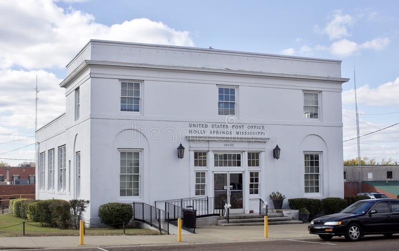 Post Vereinigter Staaten, Holly Springs, Mitgliedstaat lizenzfreie stockfotografie