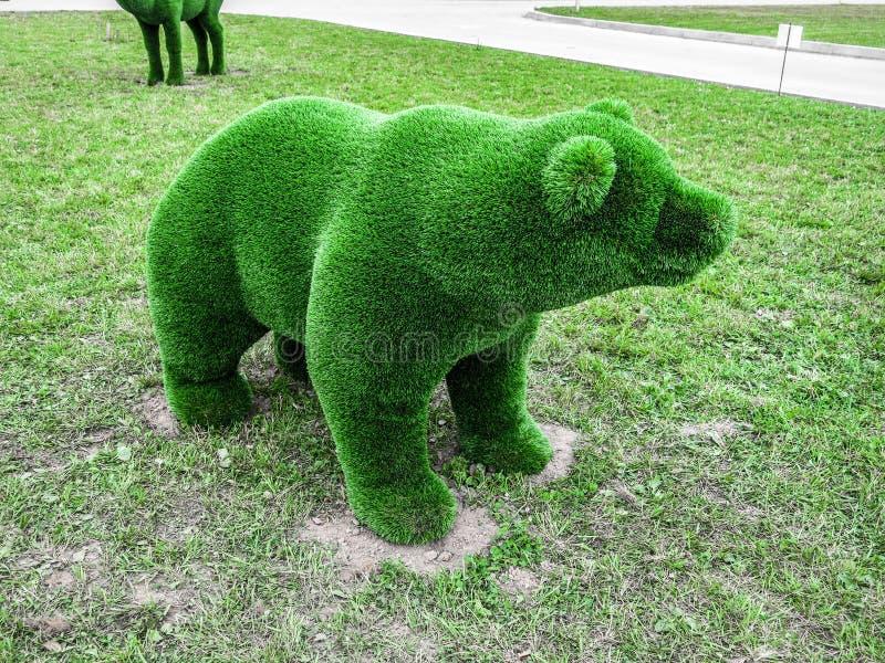 Postać niedźwiedź fotografia stock