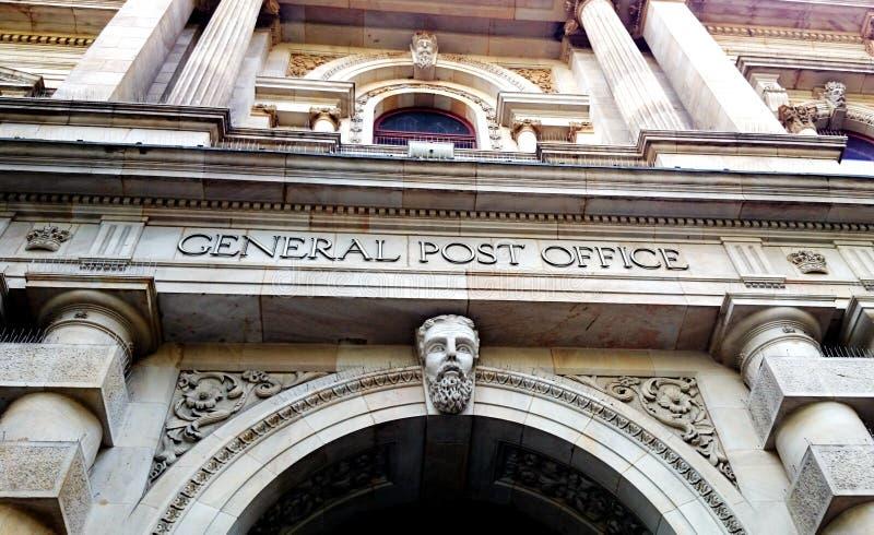 Posta centrale, Melbourne Australia fotografia stock libera da diritti