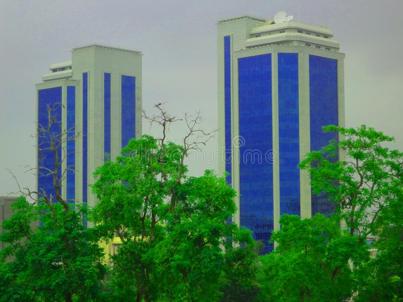 Posta Dar Es Salaam Tanzania BOT royaltyfri bild