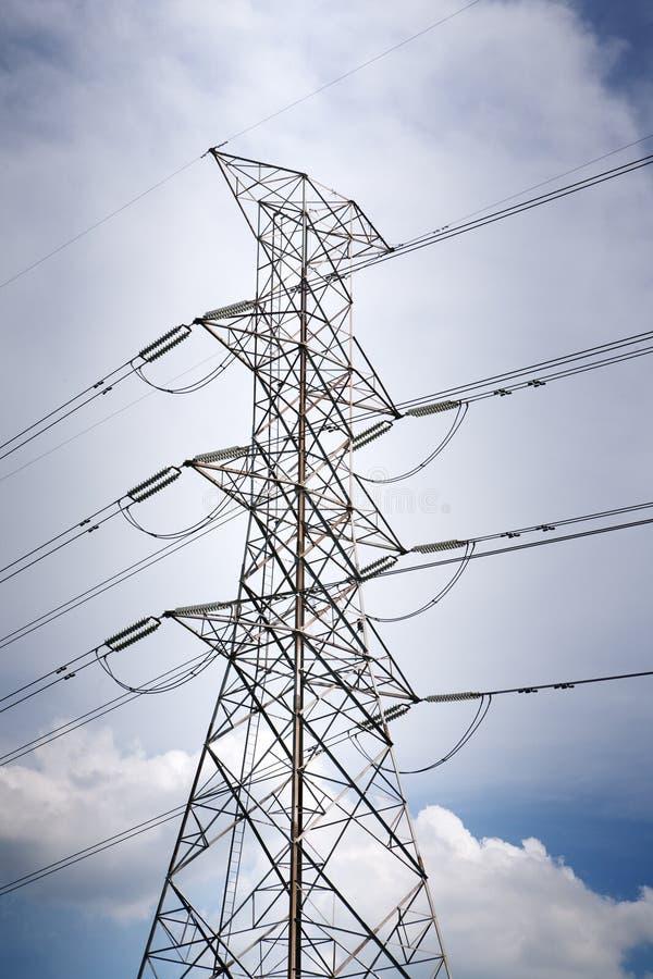 Posta di elettricit? fotografia stock libera da diritti