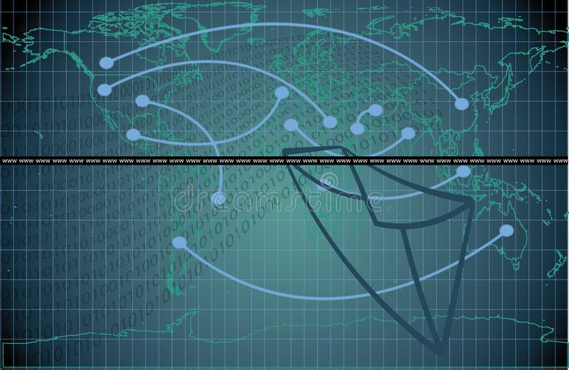 Posta di web immagine stock libera da diritti