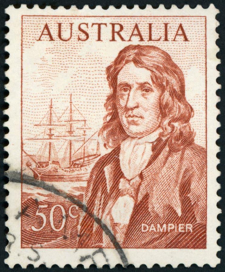 Postage stamp - Australia royalty free stock image