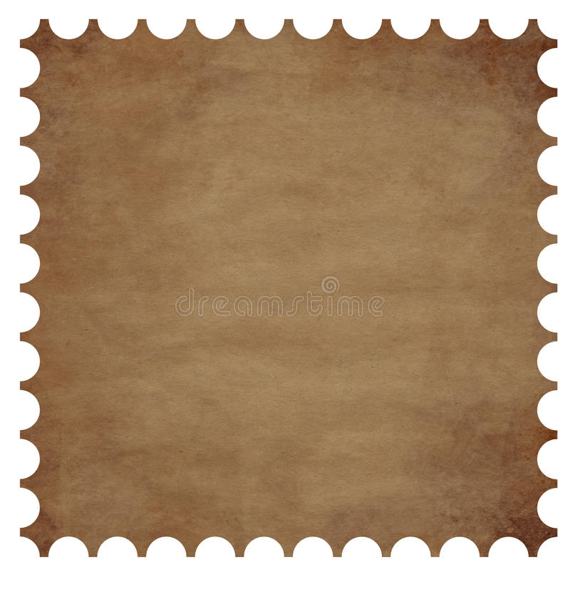 Download Postage stamp border stock illustration. Image of package - 10160123