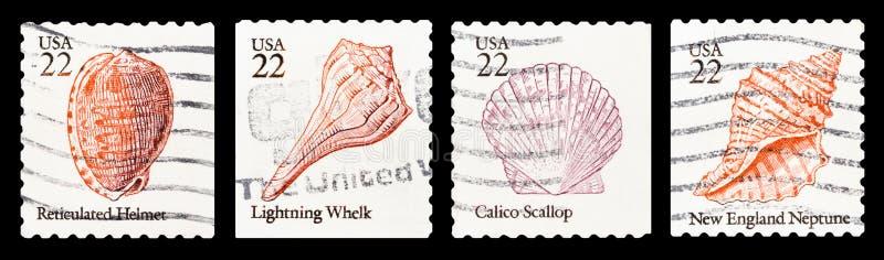 Postage stamp stock illustration