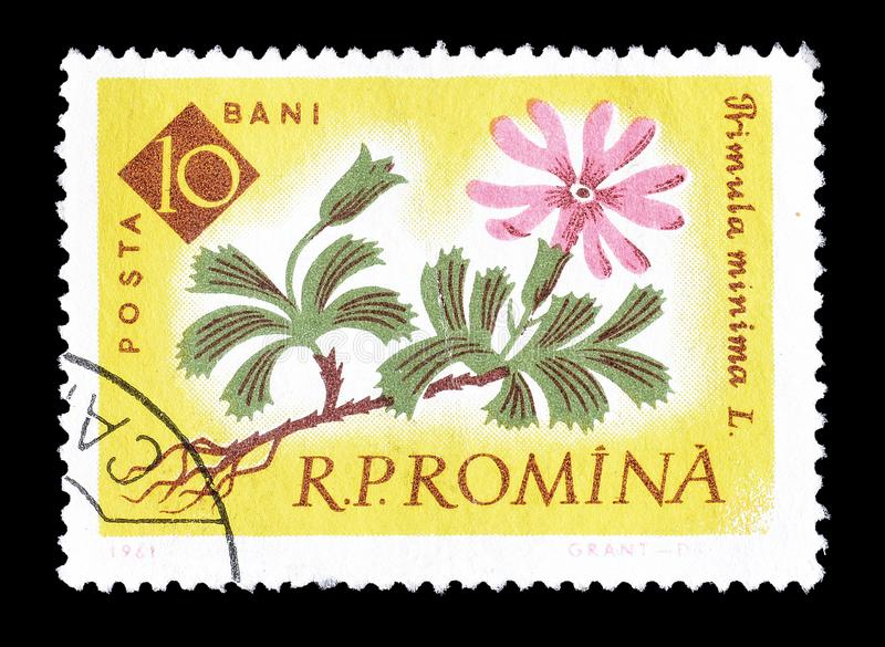 Postage stamp printed by Romania stock photography