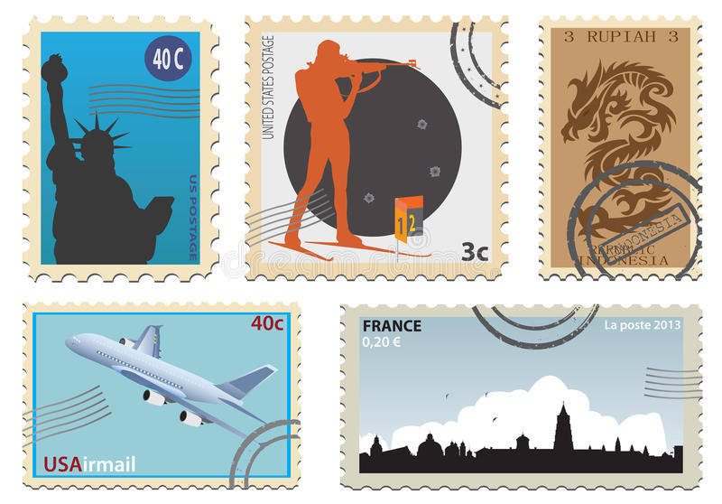Download Postage Stamps Royalty Free Stock Images - Image: 28584529