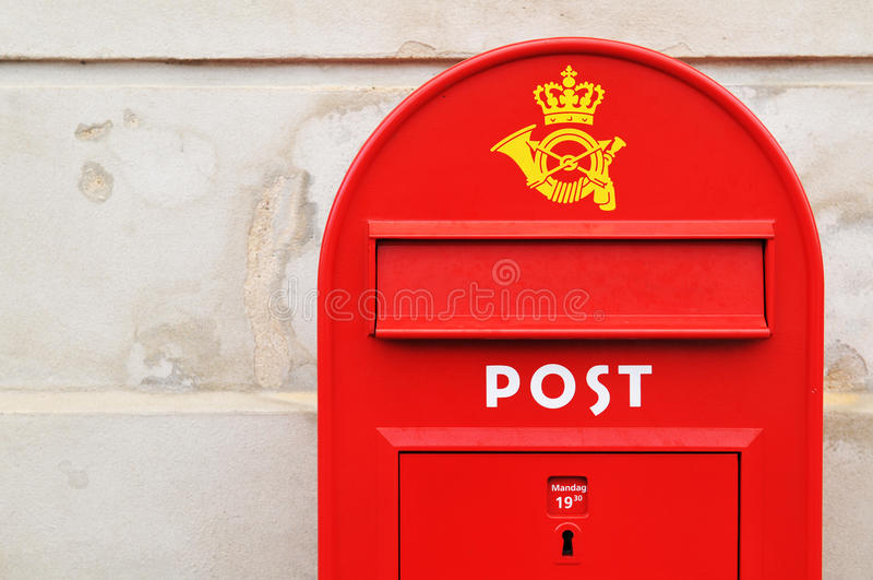 Postal box royalty free stock images