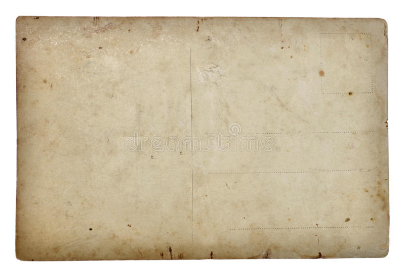 Download Postal card stock image. Image of ancient, photo, clipping - 28595127