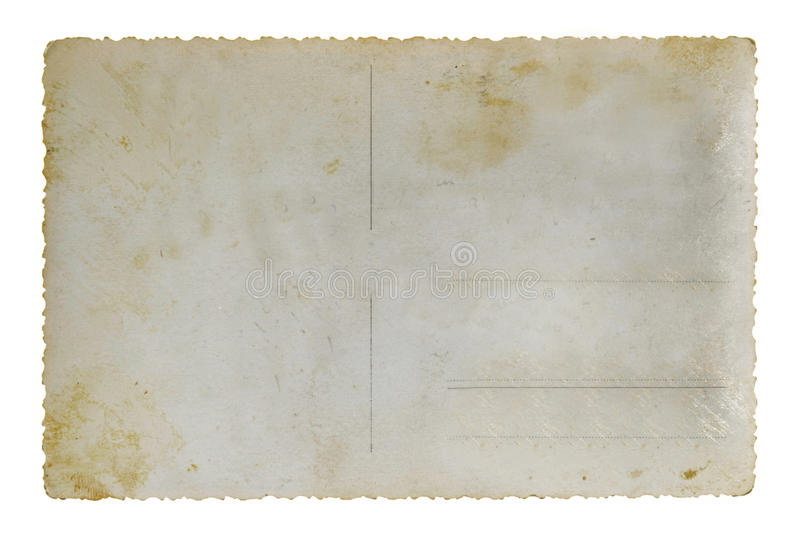 Download Postal card stock photo. Image of dirty, edge, attachment - 28595152