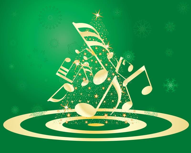 Download Postal de la Navidad ilustración del vector. Ilustración de fondo - 7275450