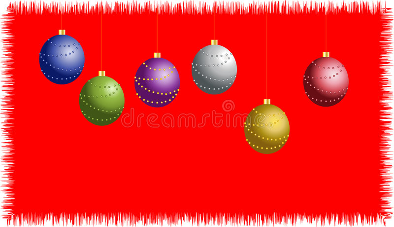 Download Postal de la Navidad ilustración del vector. Ilustración de fondo - 7282302