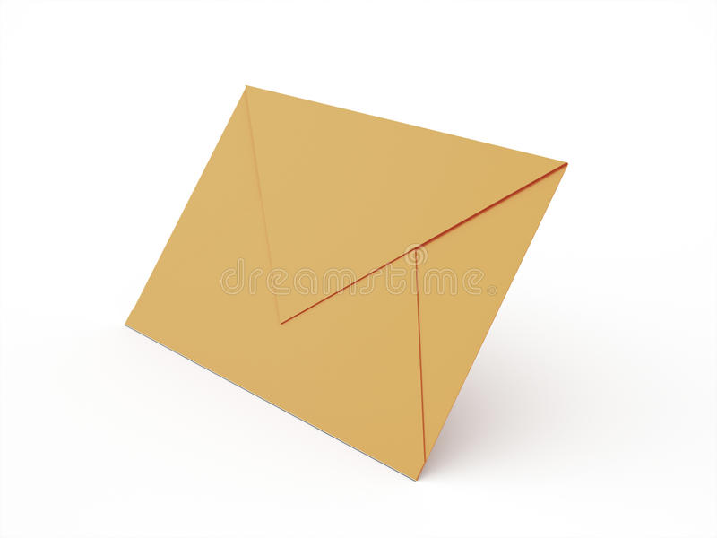 Postal envolva ilustração do vetor