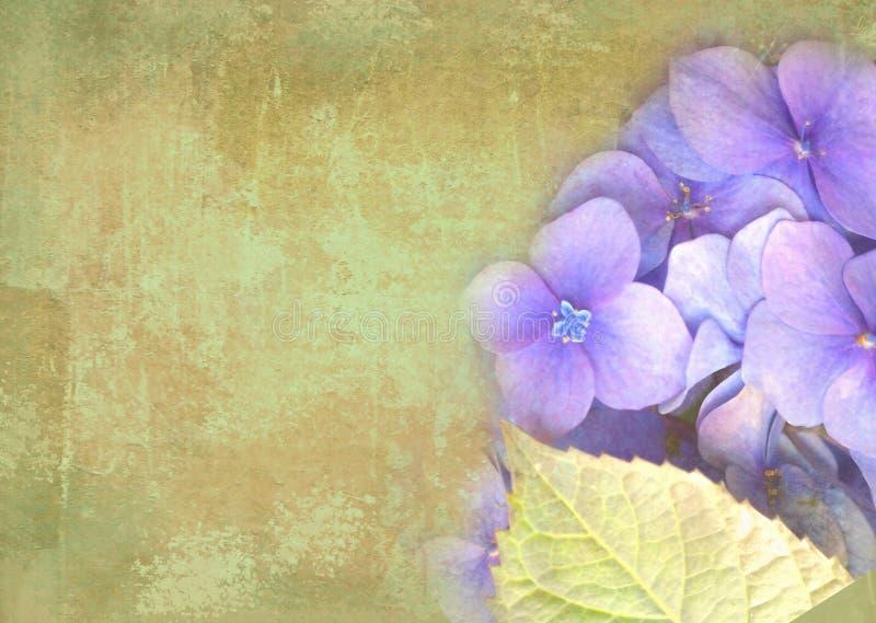 Postal floral Puede ser utilizado como la tarjeta de felicitación, la invitación para casarse, el cumpleaños y otro suceso del dí stock de ilustración
