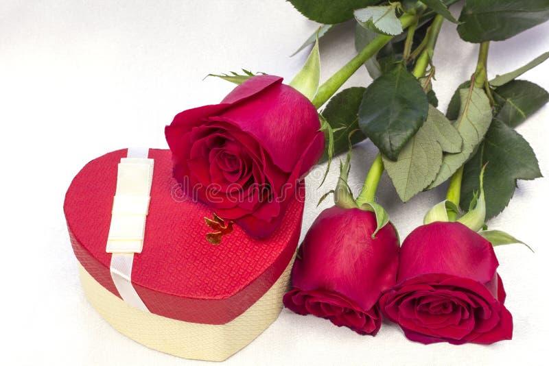Postal para el día del `s de la tarjeta del día de San Valentín foto de archivo