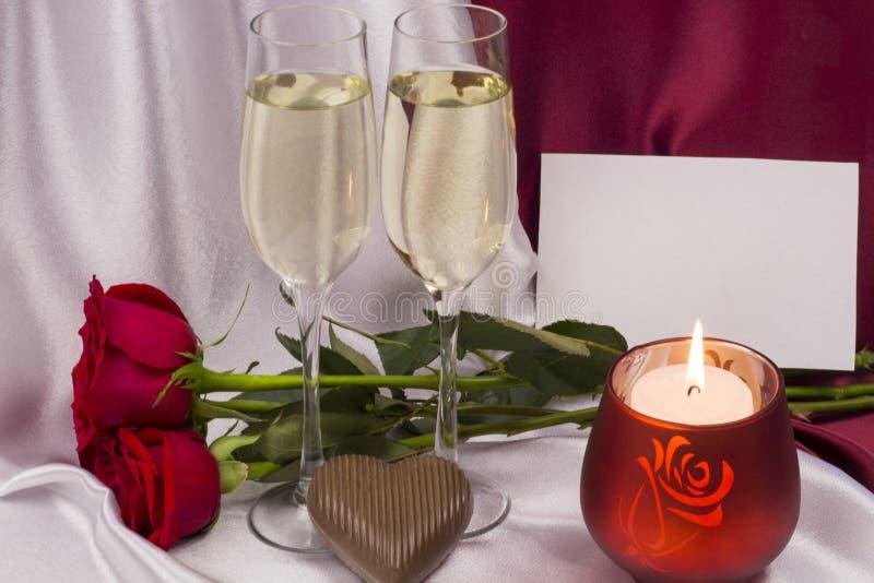 Postal para el día del `s de la tarjeta del día de San Valentín fotos de archivo