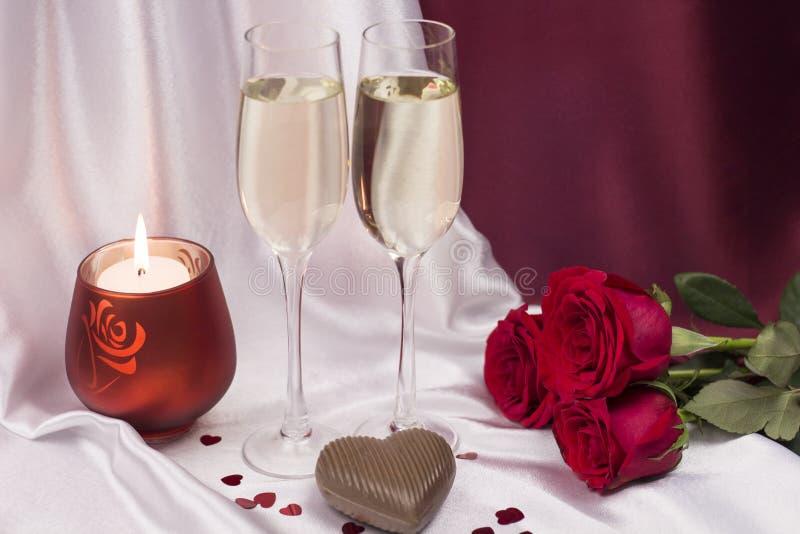 Postal para el día del `s de la tarjeta del día de San Valentín foto de archivo libre de regalías