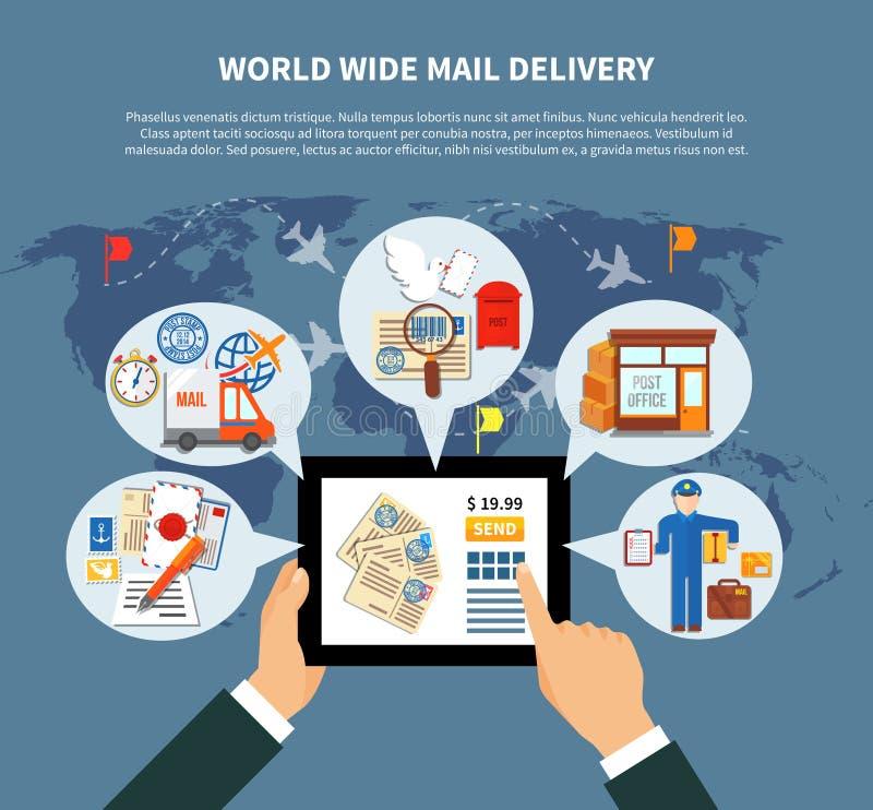 Postal services online design stock vector illustration of design download postal services online design stock vector illustration of design airplane 86334406 gumiabroncs Images