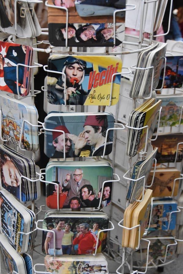 Postal turca del cine foto de archivo libre de regalías