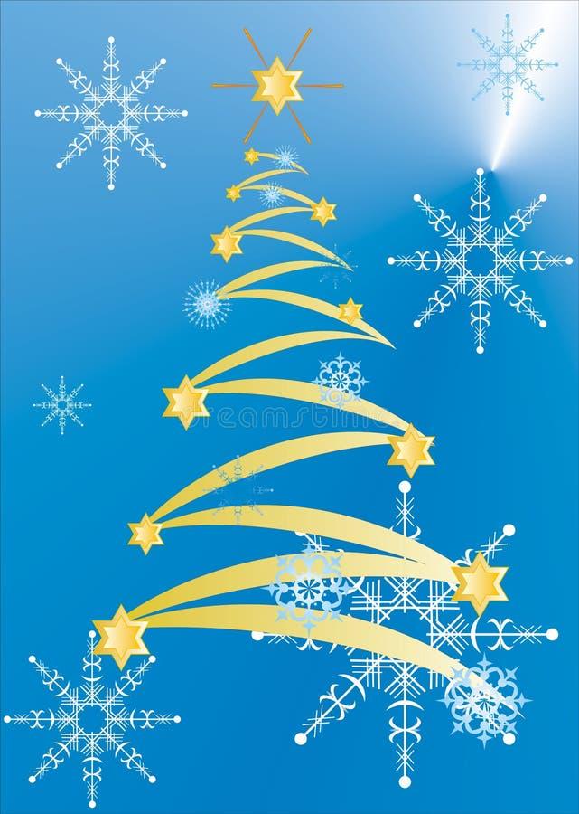 Postales de la Navidad stock de ilustración