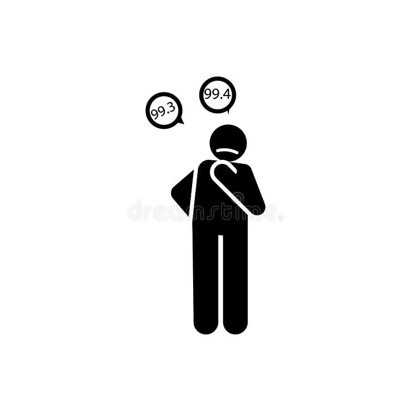 Postawa, zachowanie, osoba, trywialna ikona Element negatywna charakter?w znamion ikona Premii ilo?ci graficznego projekta ikona  royalty ilustracja
