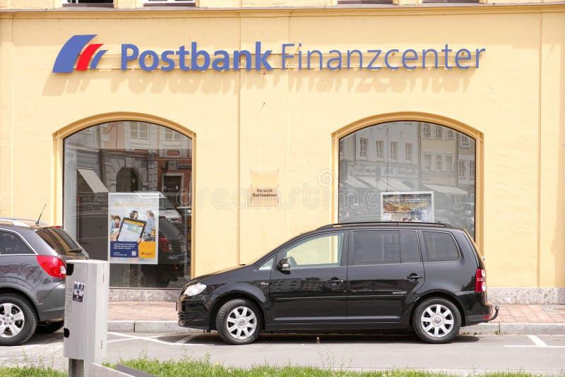 Postbank Finanzcenter Landshut arkivfoton