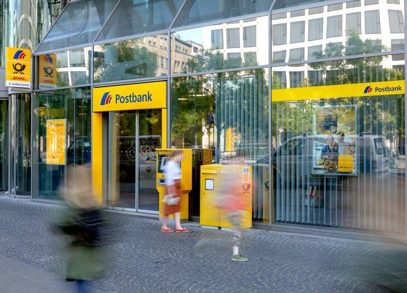 Postbank Frankfurt arkivfoto