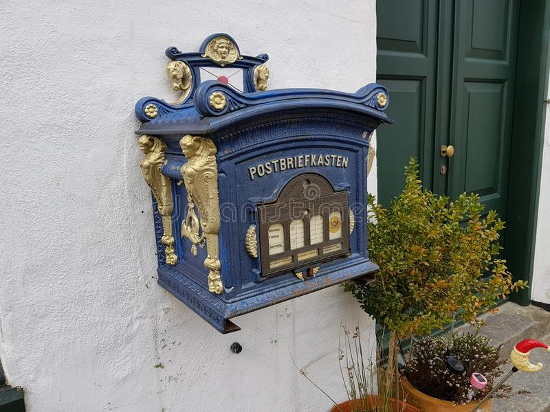 Postbox fotografering för bildbyråer