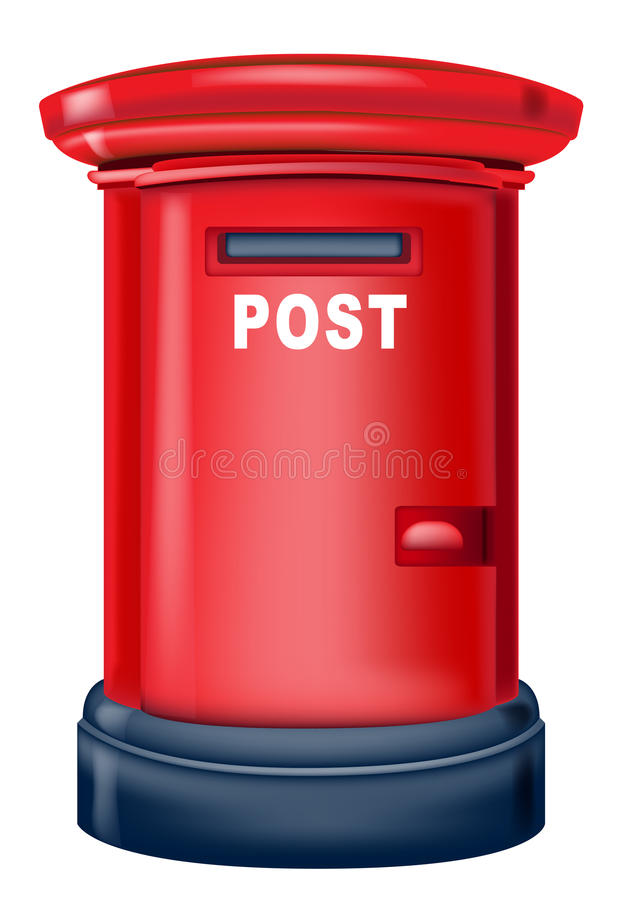 Postbox stock abbildung