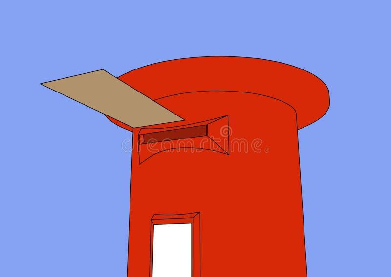postbox vektor illustrationer