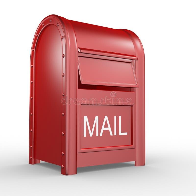 postbox royalty ilustracja