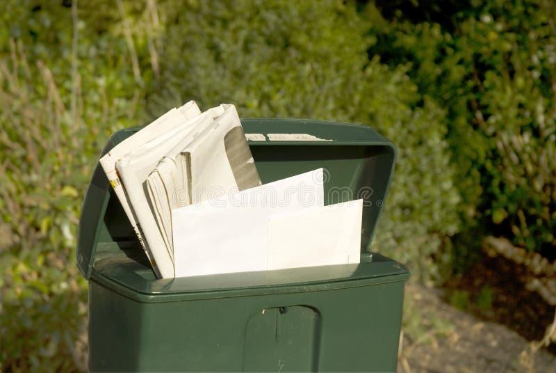 postbox arkivbild