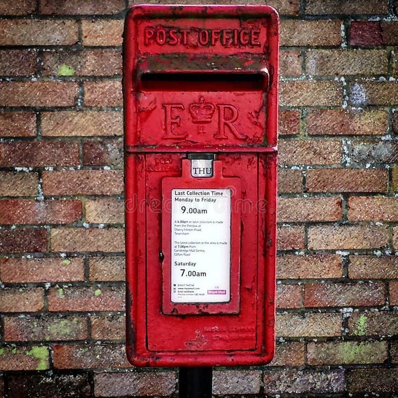 postbox imagem de stock