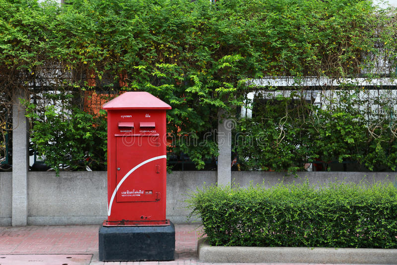 Postbox Bangkok stock foto's