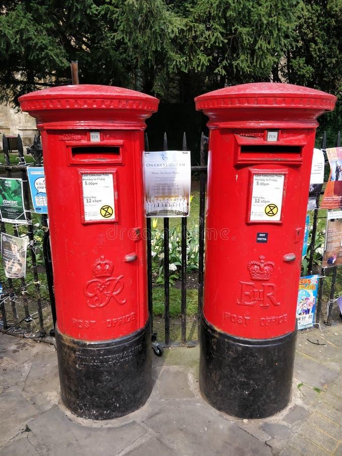 Postbox royaltyfria bilder