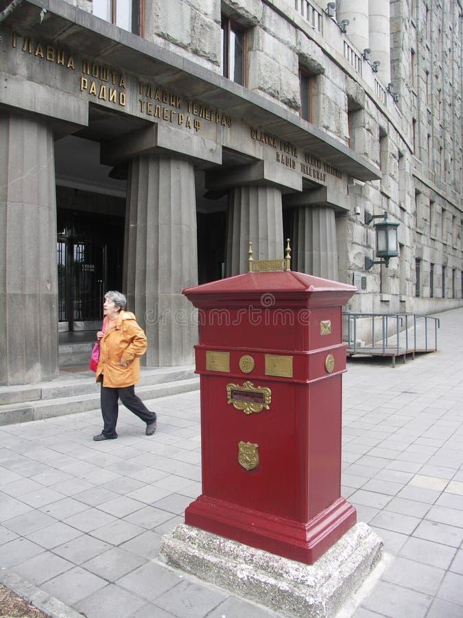 Postbox eller brevlåda royaltyfria bilder