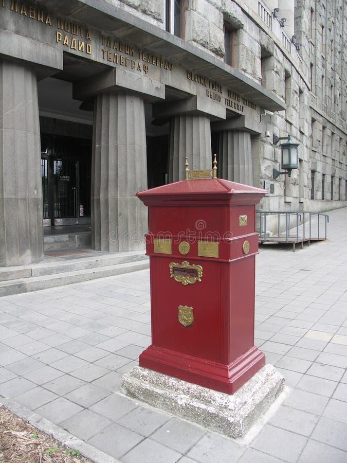 Postbox eller brevlåda fotografering för bildbyråer