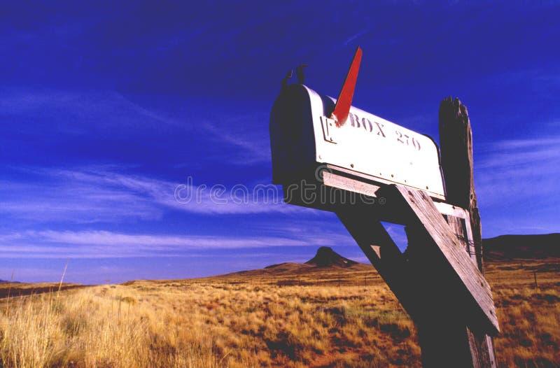 postbox s u arkivfoto