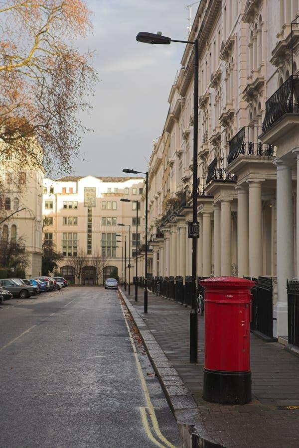 Postbox van Londen #1 stock afbeeldingen
