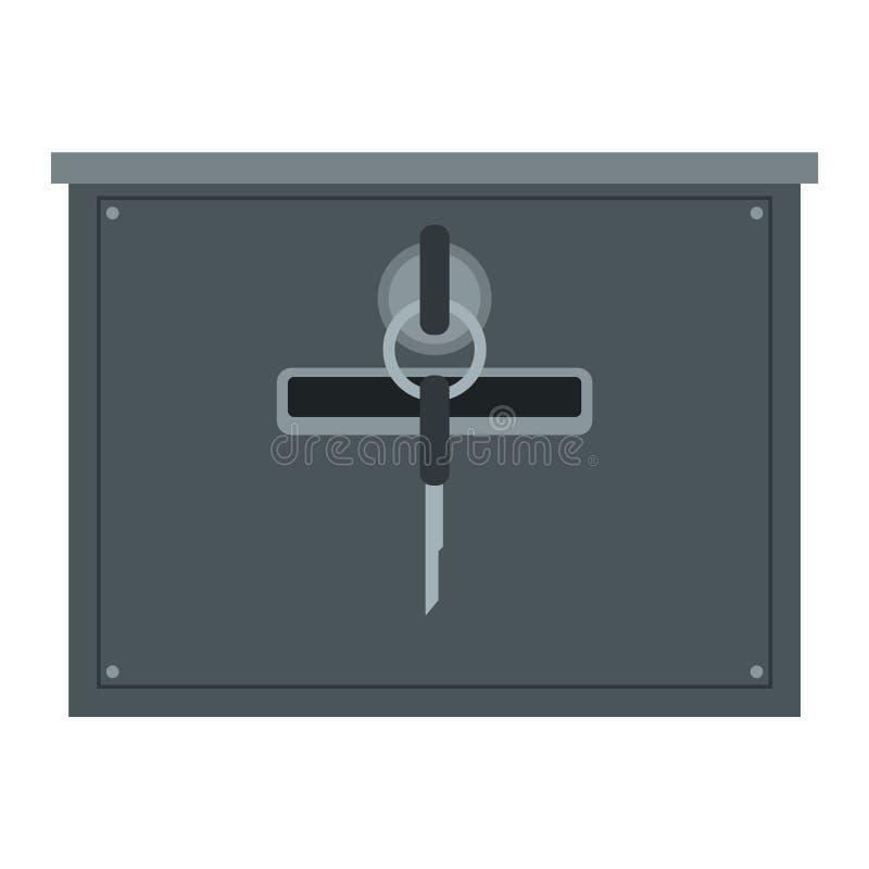 Postbrievenbusvector vector illustratie