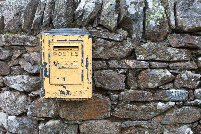 Postbus royalty-vrije stock afbeelding