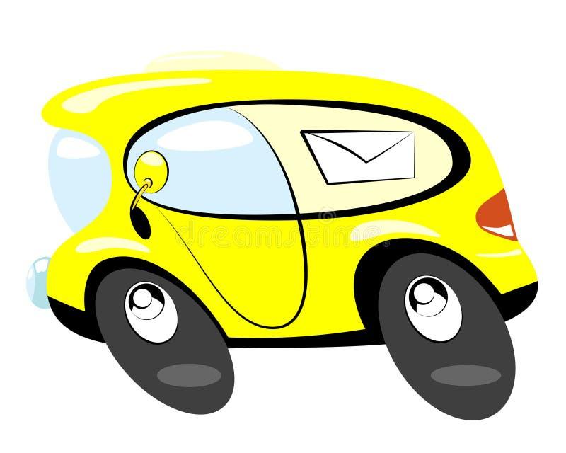 Postbus vektor abbildung