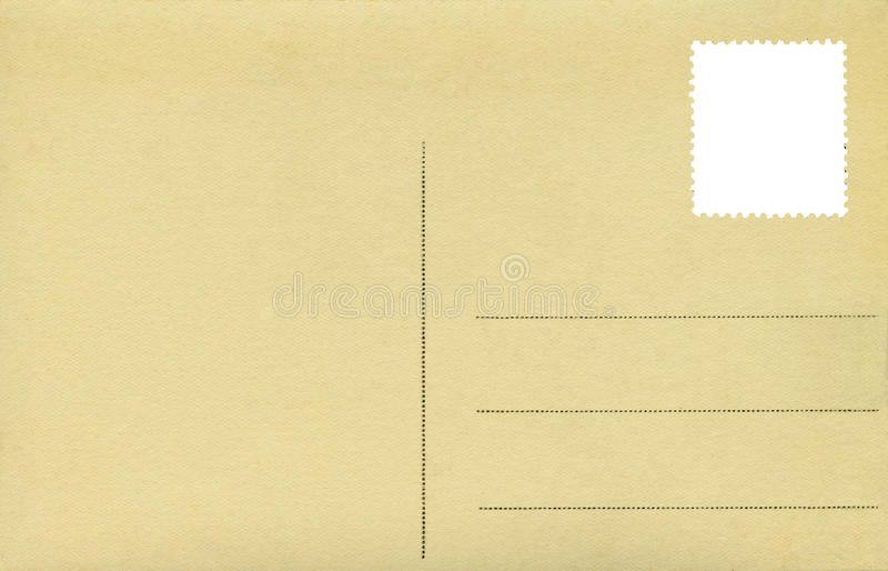 Postcard Royalty Free Stock Photography