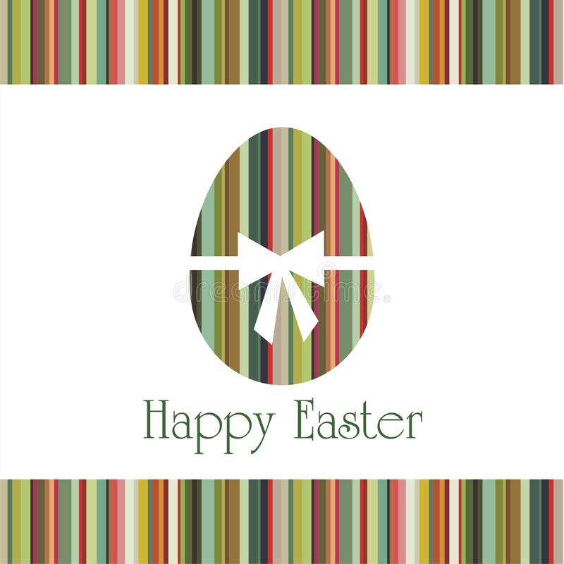 Postcard on Easter stock photography