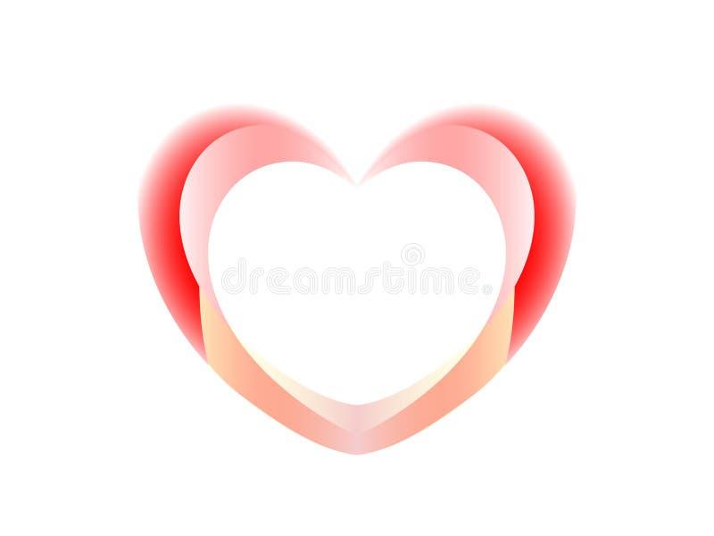 Postcard Happy Valentine stock images
